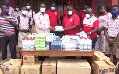 GSTS Alumni donate COVID-19 PPE to school