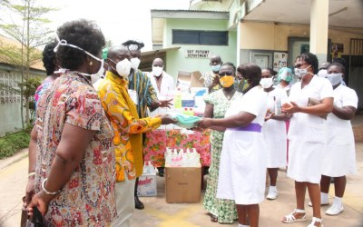 Ghana Nurses Assoc-UK assists Cape Coast Hospital