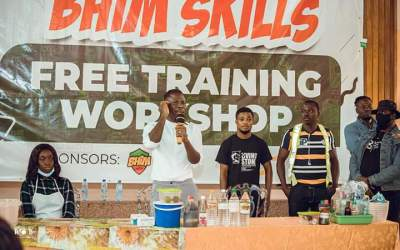 Stonebwoy holds Bhim Skills Training Workshop