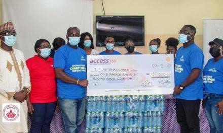 Awake water gives National Cardio Centre GHS150k