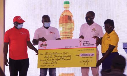 Wilmar Africa donates GHS100k to Cardio Centre