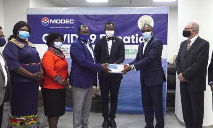 MODEC gives COVID-19 test centres $600K supplies