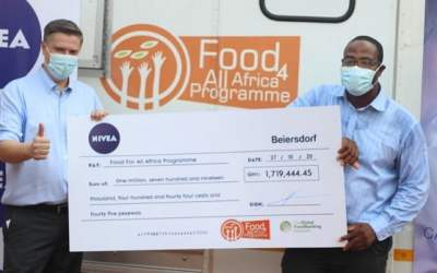 Beiersdorf CWA gives  €250,000 grant to Food For All Africa to fight hunger associated with COVID-19