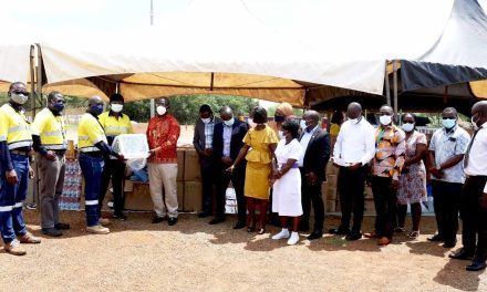Newmont gives GHS1.5m COVID-19 supplies to health institutions in Bono & Ahafo