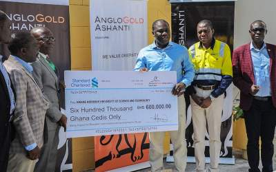 AngloGold Ashanti makes a gift of GHS600,000 to support new KNUST-Obuasi Campus