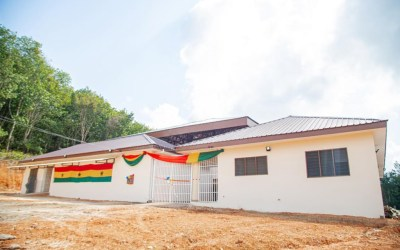 Kasapreko CEO Dr. Kwabena Adjei builds new clinic for Bonuama in Wassa Amenfi