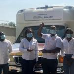 Beiersdorf Ghana donates Food Van to Food for All Africa to support fight against hunger