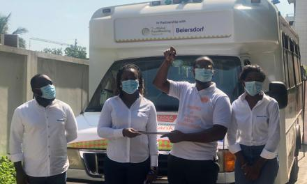 Beiersdorf Ghana donates Food Van to Food for All Africa in support of fighting hunger