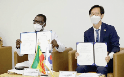 South Korea donates COVID-19 testing equipment, PPE to Ghana's Health Ministry