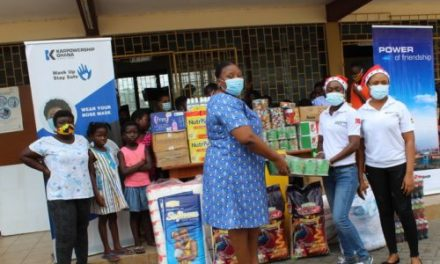 Karpowership Ghana gives to Osu Children's Home in the spirit of Christmas