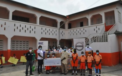 SMT Ghana supports Klaas Haven Montessori with scholarships, stationery and renovation
