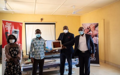 Consolidated Bank Ghana provides medical equipment for SDA Hospital in Breman