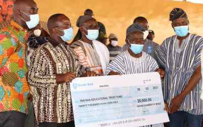 Ghana Chamber of Mines donates GHS20,000 to the Yaa Naa Educational Trust Fund