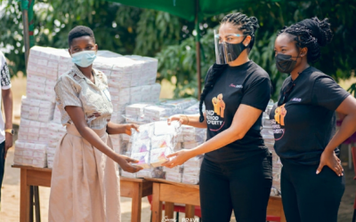 Sincerely Ghana and BRAVE collaborate on 'End Period Poverty' Project in Ghana