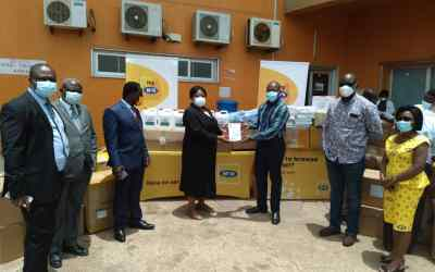 MTN Ghana supports Ejisu Govt Hospital, KATH and KNUST Hospital with PPE and supplies