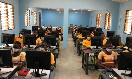 Vodafone Ghana staff undertake four community CSR projects in Education and Health