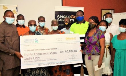 AGA-Obuasi Community Trust Fund gives GHS80,000 in scholarship grants to students