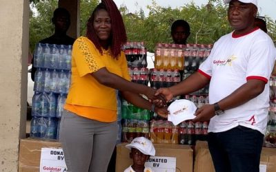 Goldstar Air donates PPE and essential supplies to Royal Seed Orphanage