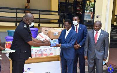 Honorary Consular Corps of Ghana gives Ghana armed Forces, Police PPE, equipment and supplies