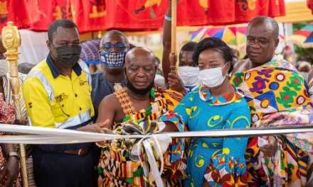 Anglogold Ashanti Obuasi Mine builds new Maternity Block for Obuasi Government Hospital
