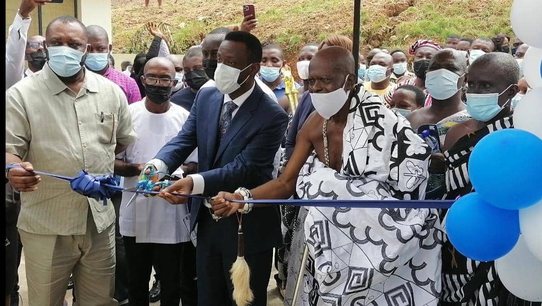Tullow Ghana builds new 16–unit 400-bed capacity dormitory for Nsein Senior High school