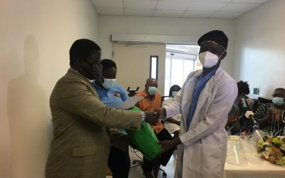 Africa Partners Medical Ghana gives PPE, supplies to ICU of Greater Accra Regional Hospital