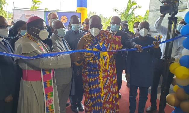 Bank of Ghana inaugurates The Bank Hospital, a new 65-bed facility built at a cost of €85M