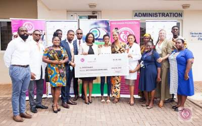 Miss Ghana Foundation, Ghana Gas supports scoliosis  surgery costs for Jacklyn Ndede Boadi