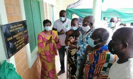 Ghana Rubber Estate Ltd builds GHS750,000 Nsein community Health Centre in Nzema EAst