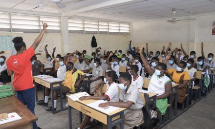 Coca-Cola Ghana holds character-building workshop for Sakumono Sch Complex students