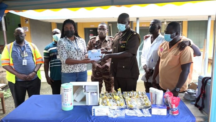 Ghana Ports and Harbours Authority donates dental equipment to Nsawam Prison