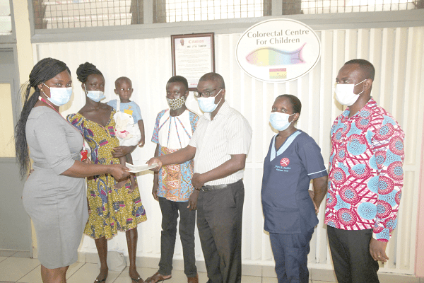 Graphic Needy Fund pays surgery costs for two-year-old Gerald Awuah at Korle-Bu