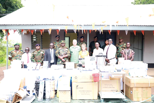 LDS Church donates medical equipment to Army Special Operations Training School Daboya