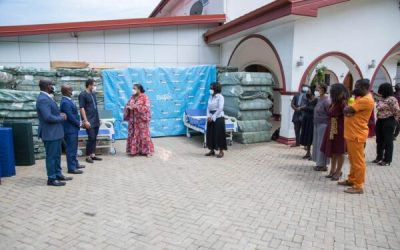 Orca Deco supports Rebecca Foundation with 176 hospital beds worth GHS200,000