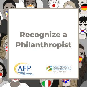 Recognize a Philanthropis.