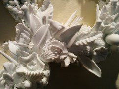 Detail: Amber Cowan, Rosette in Milk and Ivory, 2013