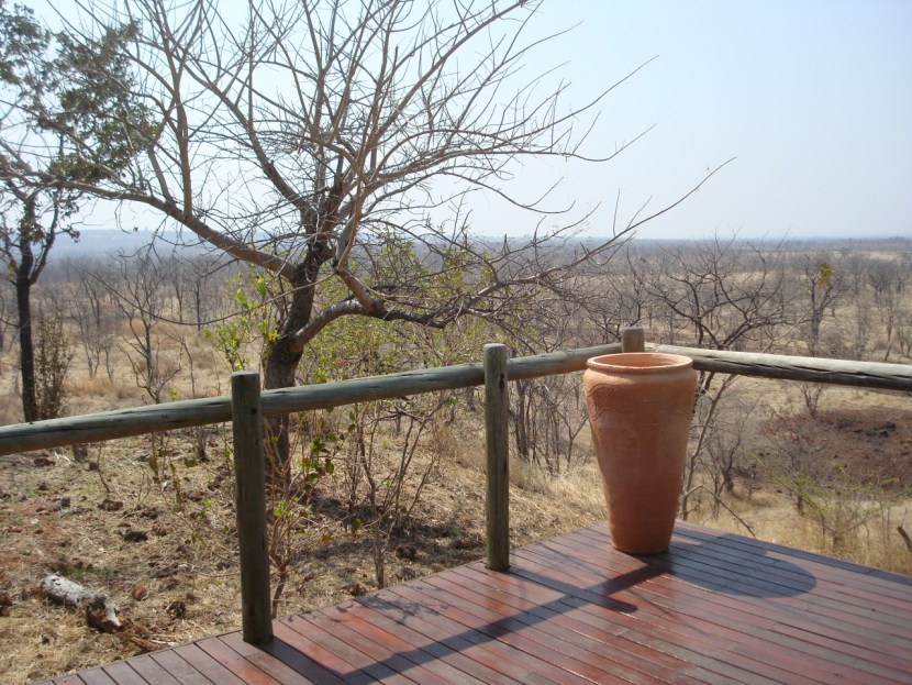 Elephant Camp Zimbabwe view