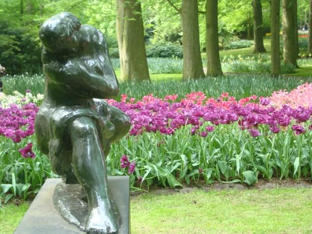 Keukenhof gardens Amsterdam tulips