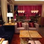 The lobby at The Hotel Monaco, Philadelphia