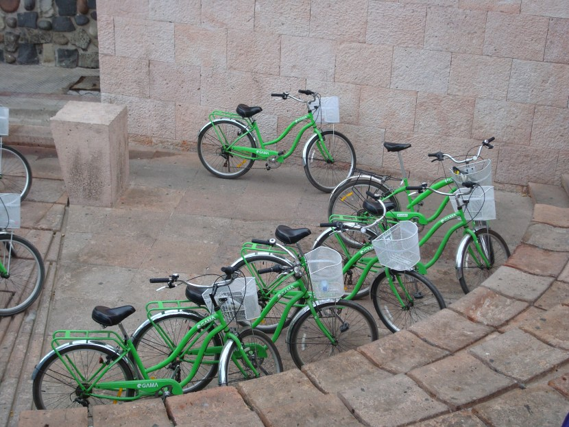 Santiago bike tour Le Bicicleta