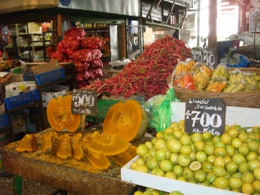 The fruit at the market