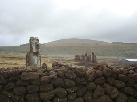 Ahu Tongariki - the Moai of Easter Island Statues