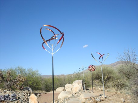Blending art into the landscape at Miraval