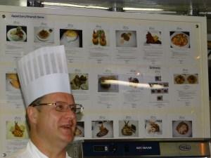 Chef Royal York kitchen