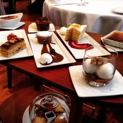 Davio's Dessert Cart Philadelphia
