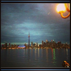 Toronto Canada Skyline at night