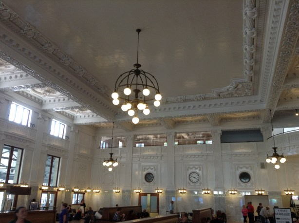 Recently restored - King Street station, Seattle