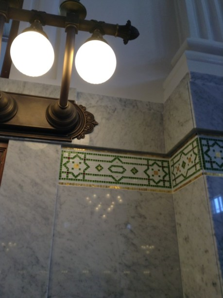 Restored King Street station - the little details that matter - a bit of Emerald