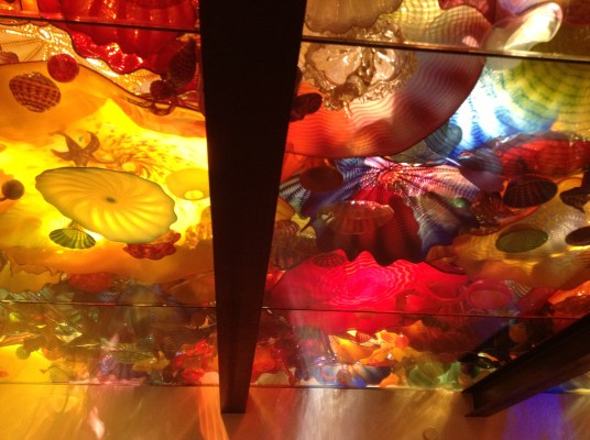 Chihuly ceiling of color