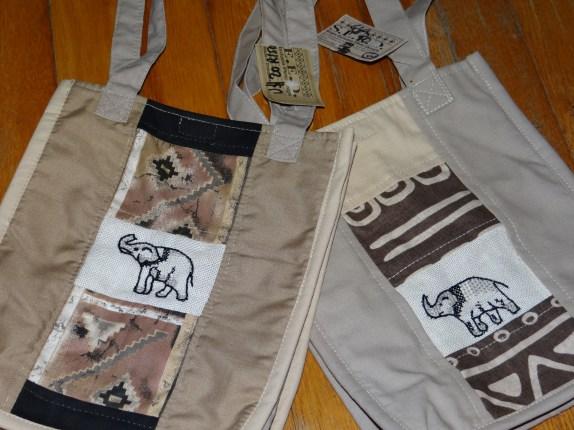 Zimbabwe elephant bags